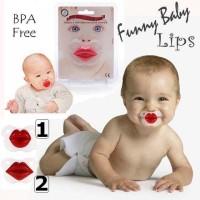 Funny Baby Pacifier - Empeng Lips 2 Motif