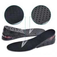 Jual 3 layer Insole Sol PU Sepatu hitam Penambah Tinggi Peninggi Badan 7cm Murah