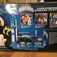 Turbo Rangers Garage Playset Power Ranger Carranger Sentai