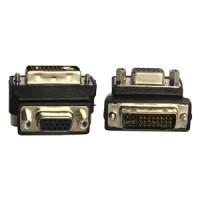 90 Degree DVI to VGA Adapter Model L Original ZIKKO ZK-B385
