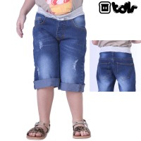 Celana Levis Anak Perempuan Jeans Boyfriend Pendek TDLR 4024