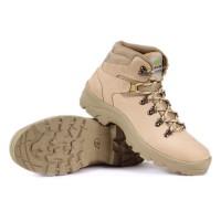 Sepatu Gunung Hiking Boots Outdoor Kulit Original Bukan Eiger TMS083