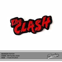 Patch emblem/ bordir band the clash