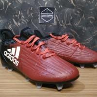Sepatu Bola Adidas X16 Gradient Red Black Replika Import
