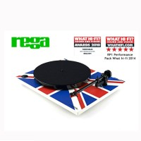Rega RP1 Performance Pack Union Jack Turntable