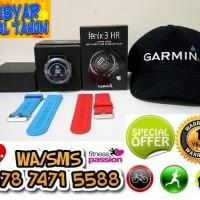 fenix 3 HR + Topi GARMIN + Silicone Strap - WOW