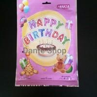 Balon Happy Birthday / Balon Foil Happy Birthday