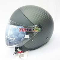 Helm LS2 Cabrio OF597 Matt Carbon