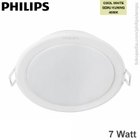 Downlight  LED Philips 59202 Meson 7W Warna Cool White