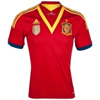 Jersey Spanyol Home 2013