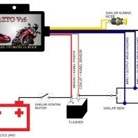 harga Flasher Hazard Otomatis 16 Mode / Banyak Mode Untuk Touring Tokopedia.com