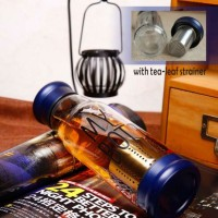 Jual My Bottle Glass Minum bahan Kaca + pouch(sarung) imut + Tabung Infuser Murah