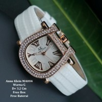 Jam Tangan Wanita / jam tangan Murah Anne Klein Minela White Color+Box