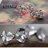 harga Anting Pita Zircon Bening (gelang cincin kalung xuping lapis emas) Tokopedia.com