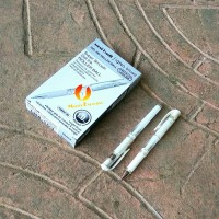 Uniball Signo Broad JAPAN White Gel Ink Roller Ball / Pen Jel Putih