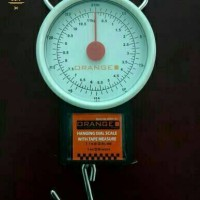 Jual Promo!!!Timbangan gantung 11kg +meteran Orange/ timbangan serba guna Murah