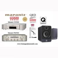 Paket Marantz Stereo CD5004 + Amplifier Marantz PM5004 + Speaker Q2020