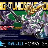 SD Gundam #385 - Legend BB - Knight Unicorn Gundam