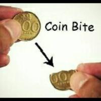 Coin Bite | Koin Gigit | Alat Sulap | Unik | Lucu | Trik | Grosir