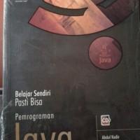 Buku Belajar Sendiri Pasti Bisa Pemrograman Java+cd