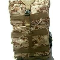 Tas Pungung Ransel Backpack Militer motif loreng army