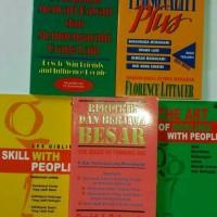 Berpikir Berjiwa Besar+Personality Plus+Bagaimana Mencari kawan