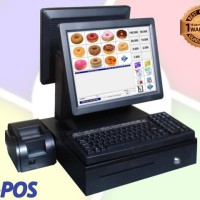 Mesin Kasir Touchscreen / Cash Register / POS / Komputer Kasir