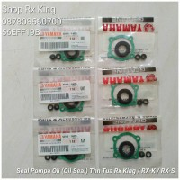 Seal Pompa Oli (Oil Seal) Tahun Tua Rx King 1983 - 1995 Full Set