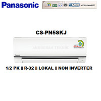 AC SPLIT PANASONIC 1/2 PK 1/2PK R32 STANDAR NON INVERTER - PN5SKJ