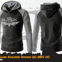 Sweater Hoodie Game Black Rock Shooter Black Sweater BRS