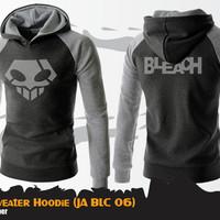 Sweater Hoodie Anime Bleach Black Sweater Ichigo