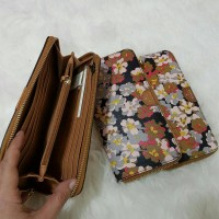 DOMPET FOSSIL ZIP AROUND FLORAL WALLET BORONG!   Grosir!