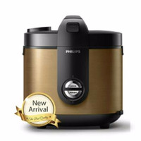 PHILIPS HD 3128 Pro Ceramic Rice Cooker - GOLD / EMAS