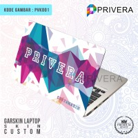 Jual Garskin Laptop/Cover Laptop/Screen Protector/PVK001-Skin Custom Murah