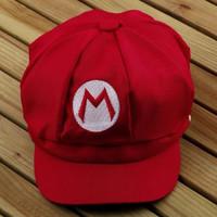 MARIO BROS cap / hat / topi cosplay kostum