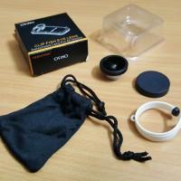 Jual Osino Clip Fish Eye Lens (lensa fisheye untuk segala macam handphone) Murah