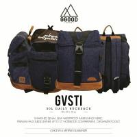 harga Yas! Gvsti Dry Denim Ggoodstuff Backpack / Tas Ransel Sekolah Tokopedia.com