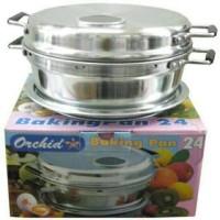 PROFESIONAL BAKING PAN 22 / PANCI PEMANGGANG PANGGANG BOLU CAKE KOMPOR