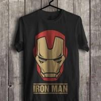 Jual Kaos IRON MAN superhero avengers civil war kaos marvel (S - XXL) Murah