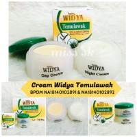 KREM WIDYA PUTIH / Temulawak Day & Night Cream Pot Susun - Ber-BPOM