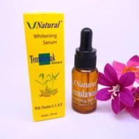 Serum Temulawak V Natural Whitening Original ber-BPOM - Vit. A, C & E
