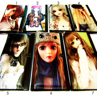 Dompet Import Animasi Korea Cute/Korean Cute Cartoon Anime Wallet Girl