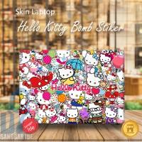 Garskin/Stiker/Skin Laptop sticker bomb Hello Kitty