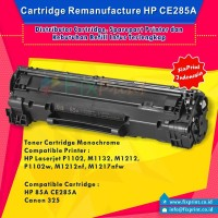 Cartridge Toner Remanfacture HP CE285A 85A Canon 325, Printer HP P1102
