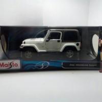 Jeep Wrangler Sahara Maisto 1/18 Special Edition 2005 Diecast Metal