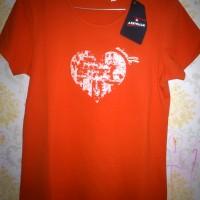 T Shirt Cewek Airwalk Annora Ladies Tee fireball (Original)