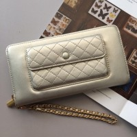 Dompet wanita original charles & keith murah gold