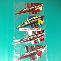 stiker motor / striping motor yamaha x-ride 2016