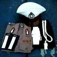 Baju Kostum Polisi untuk Anak Laki&Perempuan Usia 3-8 tahun
