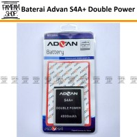 Baterai Handphone Advan S4A+ Plus Original Double Power | Batre HP